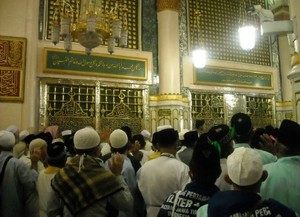 makam nabi muhammad Sejarah Masjid Nabawi