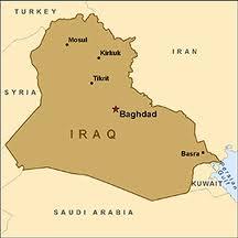 peta irak