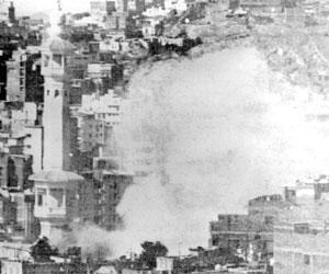 Ledakan bom di Masjid al-Haram dalam aksi Juhayman