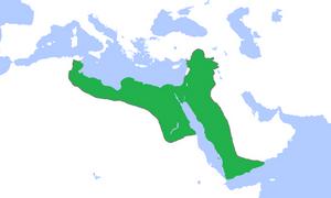 Peta Kekuasaan Dinasti Ayyubiyah di Masa Keemasannya