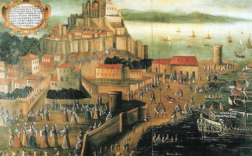 Eksodus umat Islam Morisco dari Andalusia menuju negeri-negeri Islam di Afrika Utara.