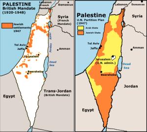 Pembagian wilayah Palestina