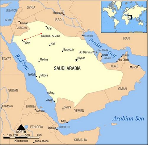 Peta Tabuk