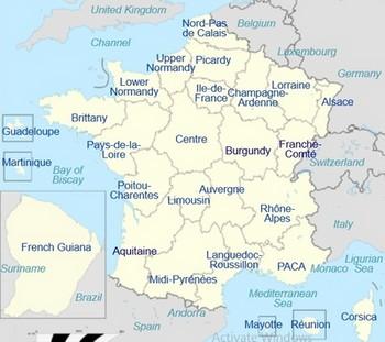 27 Kerajaan di Prancis
