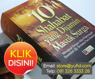 buku shahabat yang di jamin masuk surga store yufid