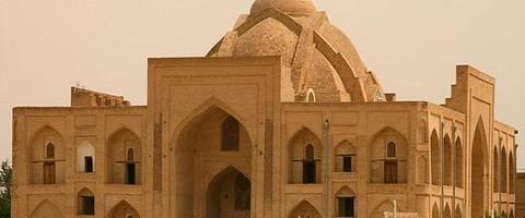 Sitorai Mokhi-Khossa, salah satu monumen terindah di Bukhara.