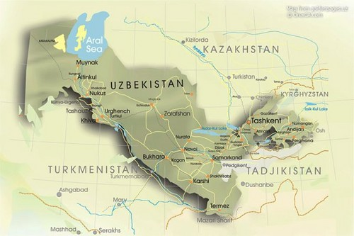 Peta Bukhara