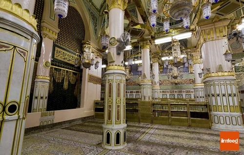 Lokasi tiang Abu Lubabah