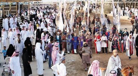 Pameran budaya Arab kuno di Ukaz pada tahun 2009