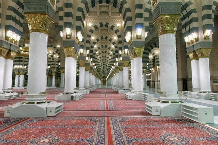 Pilar Pilar Bersejarah Di Raudhah Masjid Nabawi Cerita Kisah