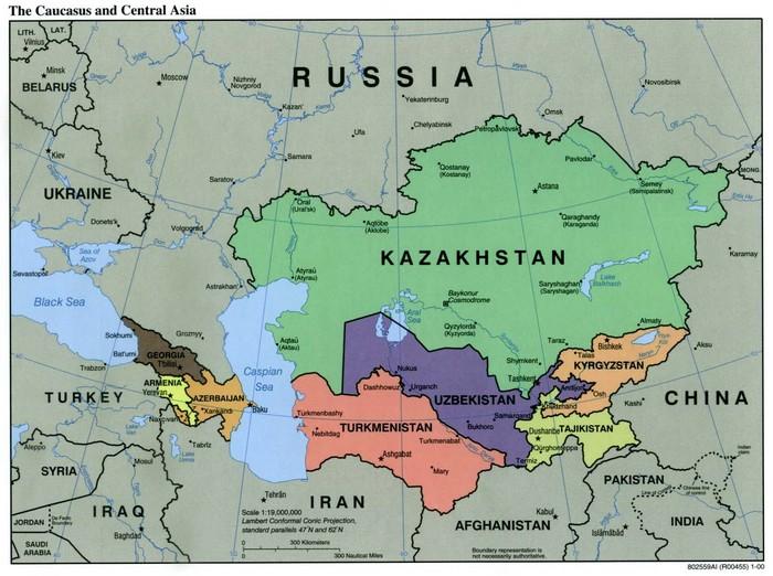 Wilayah Asia Tengah