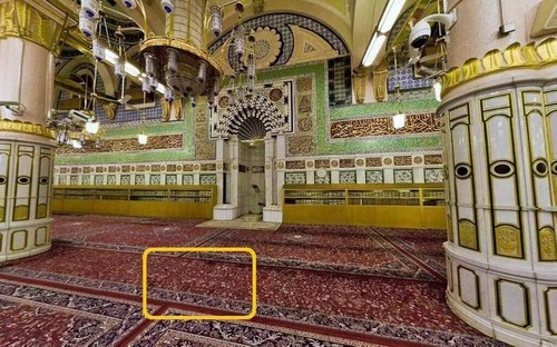 Tempat Umar ditikam oleh Abu Lu'lu'ah al-Majusi